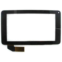 7quot nuevo original; Coby kyros mid7048 Tablet capacitivo panel pantalla táctil Touch digitalizador vidrio Sensor reemplazo FreeShipping