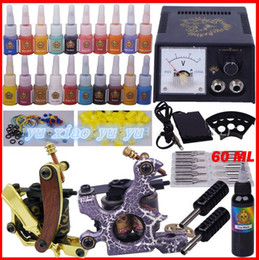 Wholesale tattoo equipment tattoo tattoo machine suits color suit tattoo tools YLT