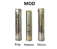 Electronic Cigarette Battery  Adjustable King Nemesis Chi you E Cigarette Mod for 18650 18350 battery mod for EGO electronics ciagrette CE4 CE5 VIVI NOVA Atomizers