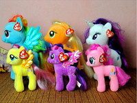 Wholesale 2014 My Little Pony Lovely Plush And Stuffed Age Toy Animal Horse Doll For Children Birthday Gifts CM CM Plush Toys
