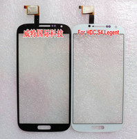 Wholesale New quot Digitizer HDC Galaxy S4 Legend SmartPhone touch screen Front Touch panel Digitizer Glass Sensor Replacement Free Ship
