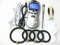 Unisex Sex Electroshock Shock Kit for adult  HOT Electric Shock Therapy Machine Male Masturbation Device BDSM Gear Adult Sex Games Products