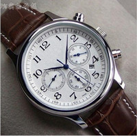 wang - Luxury Well known needle automatic mechanical watch stainless steel belt strap watch business casual mens watch Ha