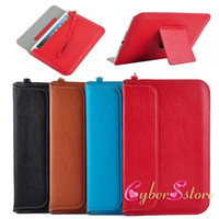 Wholesale ipad mini Luxury Slim Light Leather Pouch Bag Case Stand With Hand Rope Strap For iPad Mini2 mini Accessories
