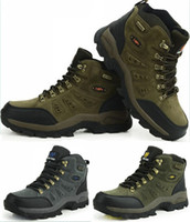 Half Boots Men PU Men's High Hiking Climbing Thermal Breathable Waterproof Fishing Shoes Outdoor Boots