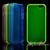 tpu gel case - For iPhone plus Crystal Transparent Clear Soft TPU Gel Case Cover for iphone6 G inch