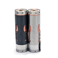 Single ss Metal black Stingray X clone copper SS Rda stingray x clone mod for 18650 battery 510 thread dhl free shipping