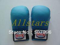 Wholesale High quality Fist Karate Taekwondo Gloves sandbag gloves blue red D