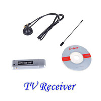 Yes OEM V598 Wholesale - Digital Freeview USB 2.0 DVB-T HDTV TV Dongle Tuner Recorder Receiver Laptop PC-free shipping