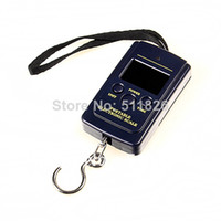 <50g 40KG new Free Shipping 40kg x 10g Portable Mini Electronic Digital Scale Hanging Fishing Hook Pocket Weighing 20g Scale