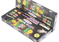 see product photo   Loom bands Kits Fun Loom Rubber bands Kit DIY Bracelets Colorful Children Toy