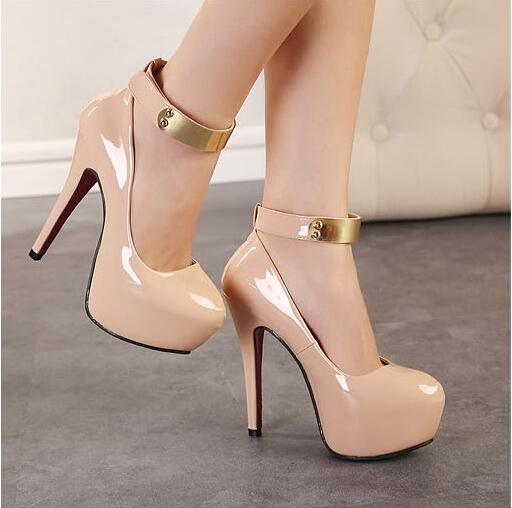 High-Heeled Shoes New 2015 South Korean Princess Sexy Nightclub