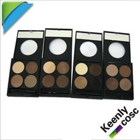 Wholesale Best seller in Black Halo color eyebrow powder compact eye brow shader eyebrow makeup power