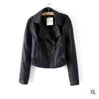 Women america leather jacket - Women Winter Leather Jakcet Coat OvercoatEuropean America Style Fahsion Outwear Jackets High Quality Size