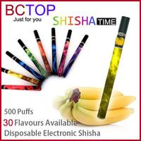Shisha pen DHL/UPS/EMS/China Post Mix Color Colorful 500Puffs ShiSha Pen Disposable E Cigarette Smoking 280mAh Electronic Shisha Hookah Pipe SOMKE Stick Electronic Cigarettes Smoking