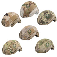 Wholesale Tactical Airsoft Paintball Fast Helmet cloth Cover for BJ PJ MH Type FAST Helmet
