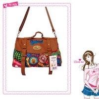 Wholesale 2014 desigual handbag cross body women s vintage handbag canvas female bag