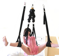 Swings   TOUGHAGE Sex Furniture Body Harness Bungee Ceiling Swing Suspension Sexual Love Position Pleasure Adult Sex Products Toys for Couples J410