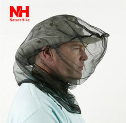 Wholesale PyrethrinTreated Anti Mosquito Fly Insect Mesh Veil Hood Net Mask Head Face Protection Camping Fishing Hiking B901