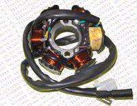 Cheap Magneto Stator 6 Pole Coil 5 Wire GY6 125CC 150CC Taotao Kazuma Baotian Jmstar Jonway Scooter ATV Quad Go Kart Buggy Parts