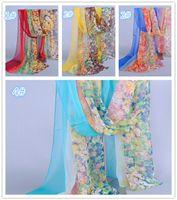 Wholesale 2014 New Chiffon scarves women scarf wrap Gradients of silk scarves Fashion charm scarves