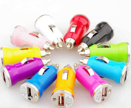 USB Car charger min car charger 5V 1A Single usb host for Iphone 5s 5 samsung S4 s3 all mobiles