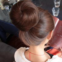 long hair chignon