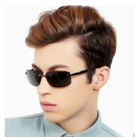 Wholesale Brand New Men s polarized Sunglasses Hot Selling Mans Fashion Sunglass Driving Sunglass High Quality Eyeglasses Come with Box Cloth Colors