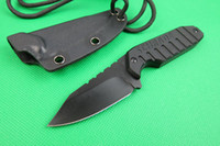 Folding Blade kydex - SCHRADE SCHF16 F16 Fixed Blade Neck knife CR13MOV HRC Blade G10 Handle Hunting camping straight knife knives with Kydex Sheath