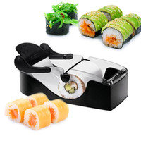 ECO Friendly Ceramic Sushi Tools DIY Sushi Roller Cutter Machine Gadgets Kitchen Tool Perfect Magic Roll Maker #ZH046