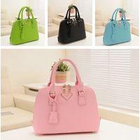 Wholesale High quality handbag shoulder bag Lady bags Seashell Bag diagonal package China brand handbags PU material Colors Women s Tote NB007