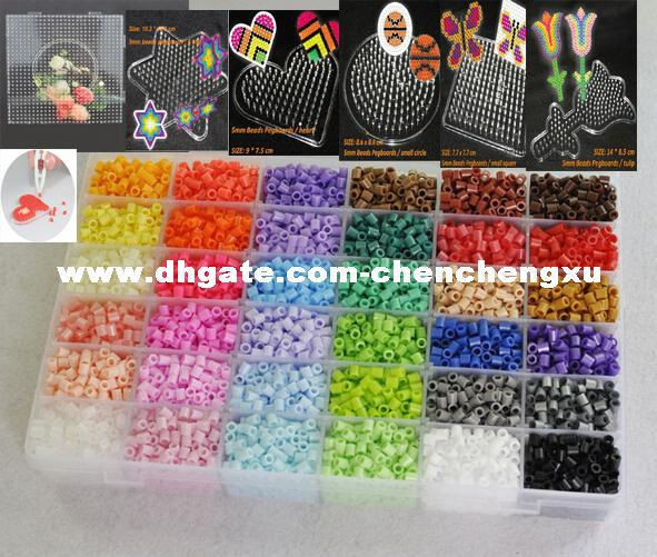 5mm hama beads 12 box set6 template 10iron papers 2tweezers fuse 5mm hama beads 12 box set6 template 10iron papers 2tweezers fuse perler beads diy educational toys craft pd0014 novel maker fun novelty gifts from