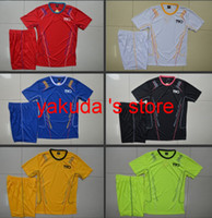 Wholesale Customized Soccer Jersey With Shorts Training Jersey Short Custom Team Jerseys And Shorts for Men at yakuda s store football uniform