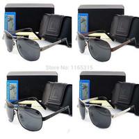 al por mayor de moda las gafas de sol polarizadas de los hombres de conducción-Envío Gratis 2013 gafas de sol polarizadas de modas, hombres # 039; s de los vidrios para la pesca de la Policía de conducción, alta calidad