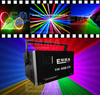 Voice-activated Blue EU 5W RGB full color laser light, laser projector for DJ Pro, disco, clubs