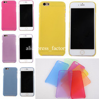 Wholesale 0 mm Thin Newest Slim Matte Frosted Transparent Clear Soft PP Cover Case for iPhone inch iPhone Plus inch