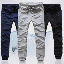 Wholesale New winter men s casual pants harem pants Korean version of the big pocket pants male sports Wei k43 p20