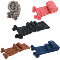 knitting yarn - 2015 new winter multicolor fashion scarf colored spun yarn acrylic knitted scarf