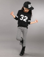 Unisex Spring / Autumn Long Brand children's clothing for girls Autumn 2014 new Korean version of the boy clothes leisure suit children aged 12-13-15