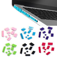 Wholesale New Silicone Anti Dust Plug Ports Cover Set For Laptop Macbook Pro Tonsee