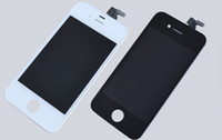 Wholesale Hot LCD Display Touch Screen Digitizer Full Assembly for iPhone CDMA S with Earpiece Anti dust Mesh Installed Cell Phone Parts