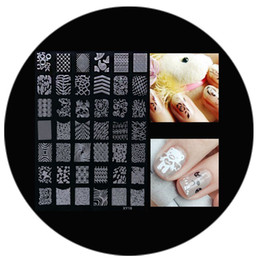 Wholesale Decorative Nail Art Stamp Stamping Image Plates Set Manicure DIY Stencil Tool
