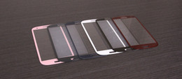 White Black Red Pink Blue Front Screen Faceplate Outer Lens Glass for Samsung Galaxy S3 SIII i9300 Glass; Free Shipping
