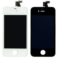 Iphone 4s conjunto completo Baratos-Reemplazo de Pantalla Táctil + LCD Pantalla Digitalizador + Polvo de Malla + Full Frame Set de Montaje Para el iPhone 4 4G/CDMA/4S DHL Gratis
