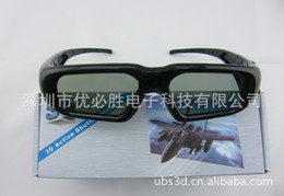 Wholesale Panasonic D TV special shutter D glasses D glasses active D visual hallucinations television stand off glasses
