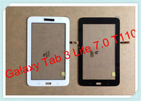 Wholesale For Samsung Galaxy Tab Lite T110 T111 Outer Glass Touch Screen Panel Digitizer Handwritten Panel Black and White