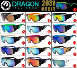 Wholesale Sunglasses glasses frame sunglasses designer sunglasses Fashion dazzle colour shades Cycling sports sunglasses DRAGON DRAGON ORBIT in