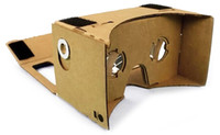 Wholesale DIY Google Cardboard Cellphone VR D Glasses for iPhone Samsung LG sony HTC