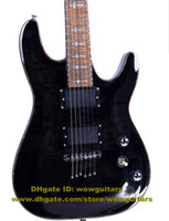 Solid Body 6 Strings Mahogany Best WL-MTB Black Beauty Mahogany Body Rosewood Fingerboard Mahogany Neck Neck-through H-H 2 Pickups 24 Frets Electric Guitar No.0044-24 FS