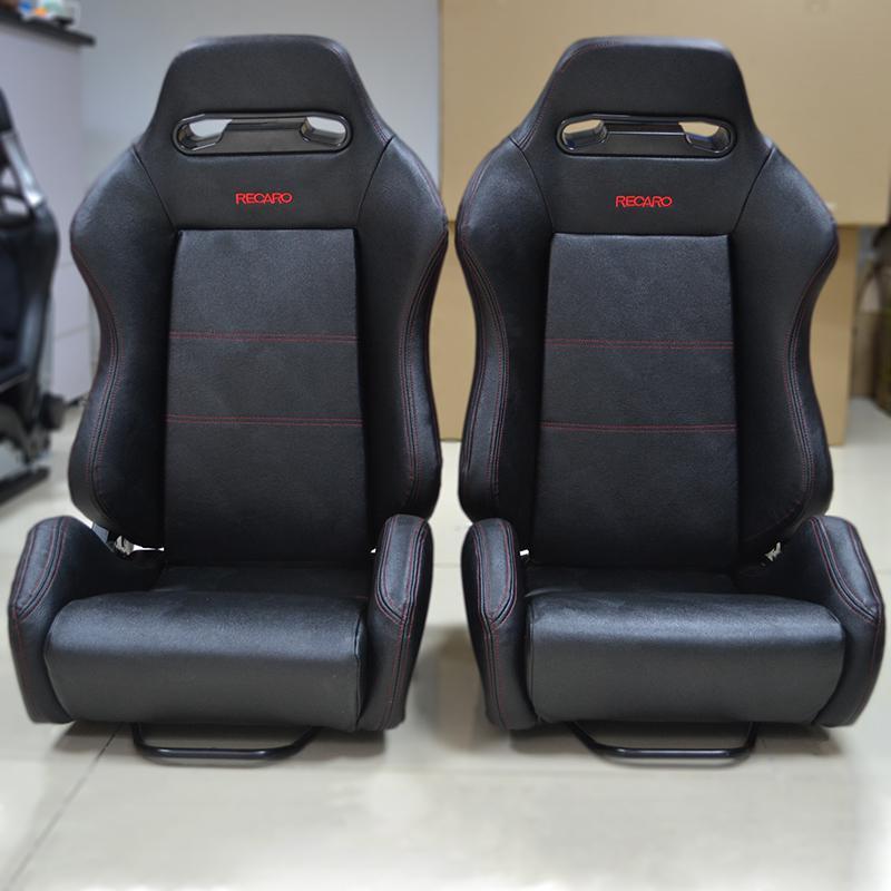 racing seats modification recaro toshi velvet leather car seat safety seat adjustable dual rail. Black Bedroom Furniture Sets. Home Design Ideas